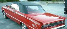 MERCURY COMET 1963-65 CONVERTIBLE TOP+WINDOW - BLACK VINYL