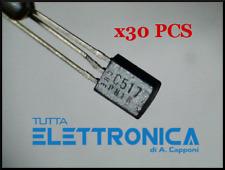 BC 517 NPN Darlington Silicon Si Transistor 625 mW 1.2 A 30 V TO 92 Case X30 PCS