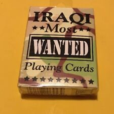 Bicycle Iraqi Most Wanted Playing Cards New 2003 Military Collectible