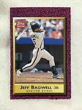 JEFF BAGWELL ROOKIE ODD BALL 1991 TOPPS MAGAZINE ASTROS RC BASEBALL CARD