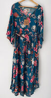 DREAMCATCHER Gypsy boho flutter sleeve midi maxi dress with tie Size 8  left