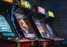 A1 | Retro Arcade Coin Slot Poster Print 60 x 90cm 180gsm Casino Wall Art #16088