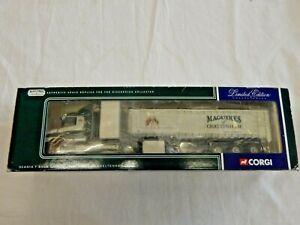 CORGI SCANIA T CAB BULK TIPPER MAGUIRES OF CHELTENHAM CC12803  MIB 1:50