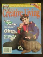 Aleene's Creative Living Magazine Vol 10 #32 Psychedelic Cute and Cuddly School