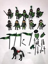 PLAYMOBIL:  10 Wolf Knights and Accessories.