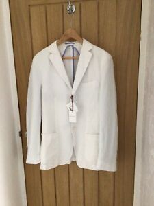 Michael Bastian White Blazer New With Tags From Mr Porter Size 48