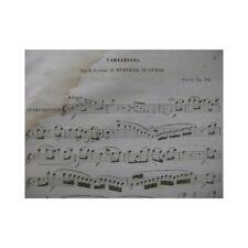 TULOU Jean-Louis Béatrice Di Tenda Flute 1841 partition sheet music score