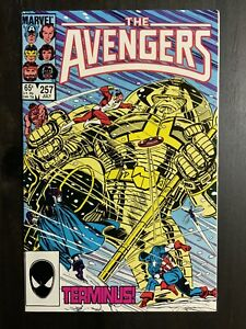 Avengers #257 VF/NM Copper Age comic featuring the 1st appearance of Nebula!