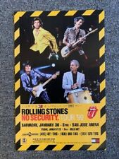 Rolling Stones Concert Poster 1999 No Security Tour