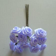 Rose de Dior de 12 Bouquets Fleurons Satin Rose Mariage Lilas