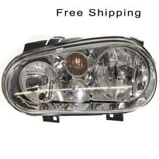 Halogen Head Lamp Assembly Driver Side Fits Volkswagen Golf Cabrio VW2502113
