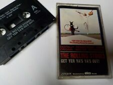 Rolling Stones Get Yer Ya's Ya's Out! CASSETTE Live 1970 Black Tape TESTED Good
