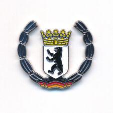 Berlin Wappen Deutschland Symbol Flagge Metall Button Edel Pin Anstecker 0439