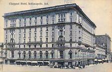 c1910 Claypool Hotel, Indianapolis, Indiana Postcard
