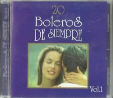 20 Boleros De Siempre Volume 1 Latin Music CD New