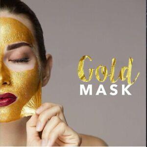 Maschera Viso Gold Mask Pulizia Rimozione Punti Neri Face Complex Antirughe 50ML