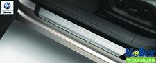Original Volkswagen Door Sill Set Tiguan with Lettering New Stainless Steel
