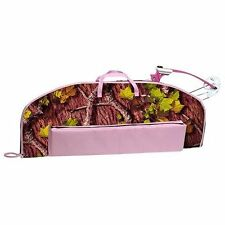 PINK Youth COMPOUND BOW CASE Girls Junior Soft Camo Carrying Bag Archery Arrows