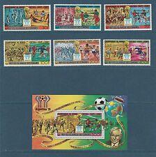 Comores république  coupe du monde de football  1979  poste et PA et BF **