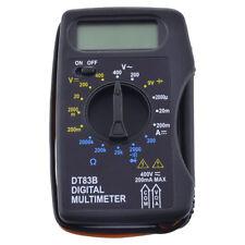 Mini DT83B Pocket type Digital LCD Multimeter Tester Battery Capacity Test