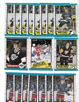 1989 O-Pee-Chee Hockey lot of 152 cards Gretzky Lemieux 8 Hull  7 Leetch