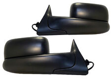 NEW Powered Flip-Up Towing Mirror PAIR / FOR 98-02 DODGE RAM TRUCKS 2032087