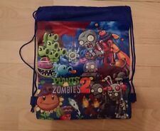 Plants vs Zombies 2 Drawstring Bag Kids Toy Backpack Bag