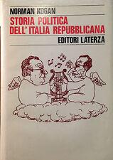 KOGAN, STORIA POLITICA DELL'ITALIA REPUBBLICANA, LATERZA