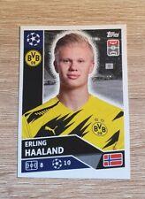Topps Champions League 2020 2021 Erling Haaland DOR18 Borussia Dortmund Panini