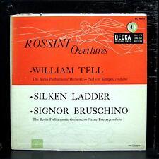 "Kempen & Fricsay - Rossini Overtures 10"" VG+ DL 4002 Decca 1952 USA Mono"