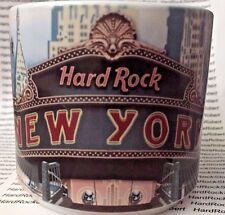 2014 Hard Rock New York City City T 16Oz Mug Skyline/Lady Liberty/Bridge/Gtr'S