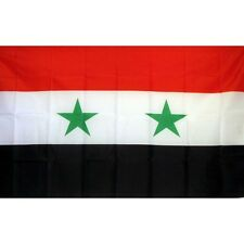 Syria Country flag Banner Sign 3' x 5 Foot Polyester With grommets