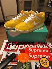 Supreme X Nike AF2 Low Yellow