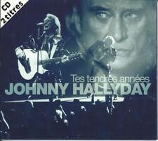 CD JOHNNY HALLYDAY - Tes tendres années (occassion digipack)