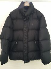 RALPH LAUREN POLO QUILTED PUFFER DOWN JACKET IN BLACK Size M MEDIUM