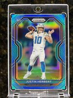 2020 Panini Light Blue Prizm #325 Justin Herbert Chargers RC Rookie PSA 10? 💥📈