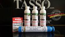 3x Tasso Konditionierer(70.83 €/L) & Entlüfterpumpe für Wasserbetten