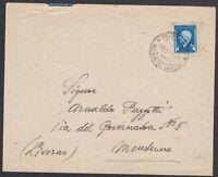 ITALIA REGNO RSI marca da bollo 50c. su lettera 1944 da Rovigo