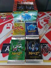 MetaZoo Cryptid Nation 1st Edition Booster Pack Full Artwork Set neu & sealed