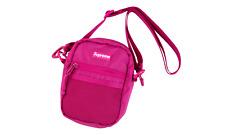 SUPREME SS17 Shoulder Bag In Magenta Pink X Cordura Brand 100% Authentic