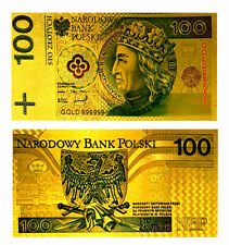 "★★ POLOGNE / POLAND : BILLET POLYMER  "" OR "" DU 100 ZLOTYCH ★★ P060"