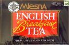 Mlesna Pure Ceylon English Breakfast Tea in 100 Tea Bags 200g
