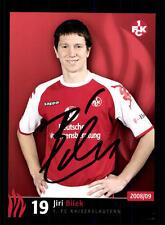 Jiri Bilek Autogrammkarte 1 FC Kaiserslautern 2008-09 Original+A 128093