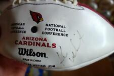 Arizona Cardinals AUTOGRAPHED FOOTBALL Wilson NFL AFC NFC