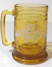 "North Amityville Fire Company 35th Anniversary 1975 5.25"" Collectible Mug Glass"