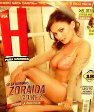REVISTA H USA EDITION ZORAIDA GOMEZ FEBRUARY 2011 H PARA HOMBRES NEW/SEALED