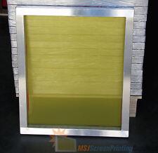 6 Pack - NEW 20x24 Aluminum Frame Screen Printing Screens w/ 305 tpi Yellow Mesh