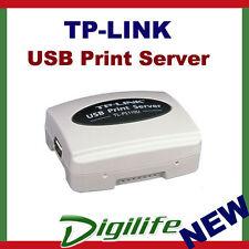 TP-Link Single USB 2.0 Print Server to Fast Ethernet TL-PS110U