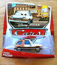 Disney PIXAR Cars TUBBS PACER on 2013 LEMON THEME CARD diecast 5/7 crime boss