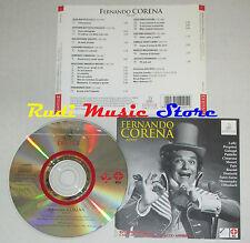 CD FERNANDO CORENA Basso ERMITAGE italy 1997 ERM 201-2 ADD lp mc dvd